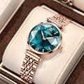 Часы бренда OLEVS, модные, Лидер продаж, женские часы, водонепроницаемые женские часы, кварцевые часы