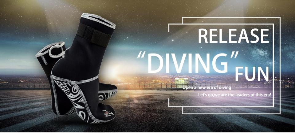 pé mergulho natação grandes pés