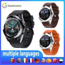 Geartronics Y10 akıllı saat kadın nabız monitörü saatler Smartwatch Android spor izci spor akıllı saat erkekler için