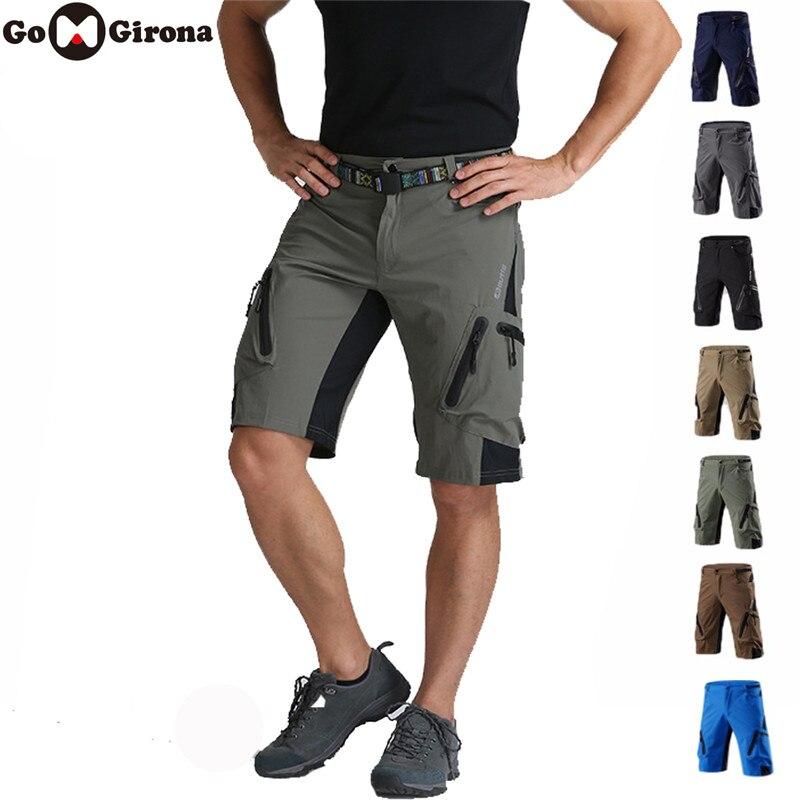 Novo shorts de bicicleta montanha verão calções ciclismo respirável esportes ao ar livre mtb equitação estrada mountain bike calças curtas