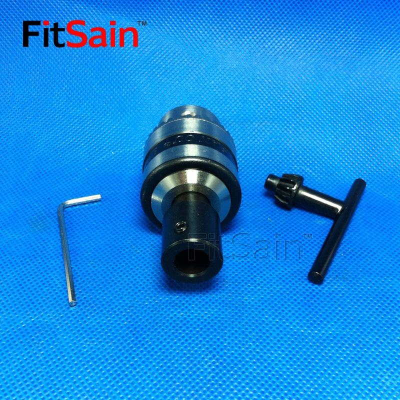 FitSain - B10 0,6-6 mm mini vrták pro hřídel motoru 4/5/6 / 6,35 / - Příslušenství elektrického nářadí - Fotografie 2