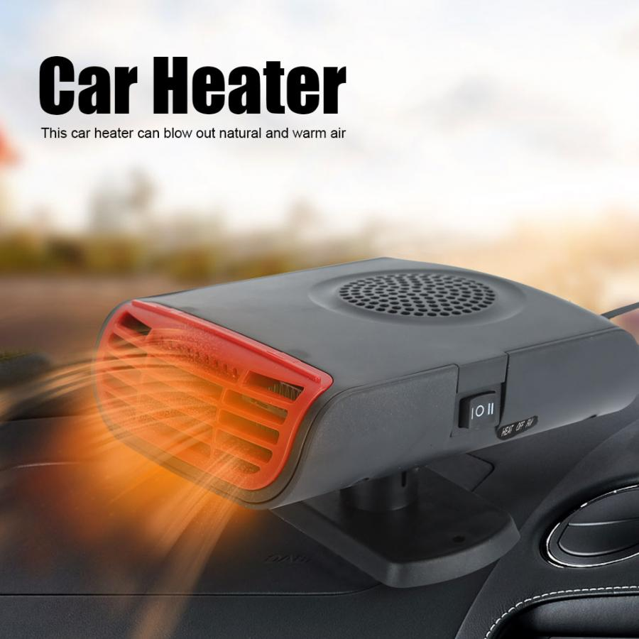 150W 12V Car Heater,Portable Car Heater Fan Personal Compact Windshield Defroster Compact Automatic Heating Fan for Vehicle Use