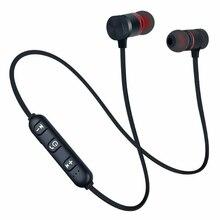 Hot XT-6 Bluetooth Earphone Sports Neckband Magnetic Wireless Headset Stereo Earbuds