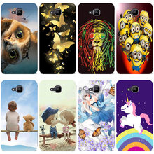 Silicone Printed phone Case for Doogee X9 Mini cases soft TPU Phone Back cover full 360 Protective shell new design bag(China)