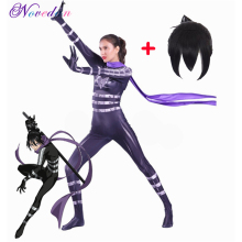 Cosplay Costume Sound-Sonic One-Punch Jumpsuit Anime Adults Kids Spandex Wig Hair Speed-O