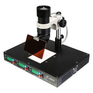 Image 4 - 認可 PUHUI T 862 IRDA SMD & BGA IR リワークステーション T 862 IRDA はんだ溶接機 T862 赤外線 SMT 溶接機 T 862