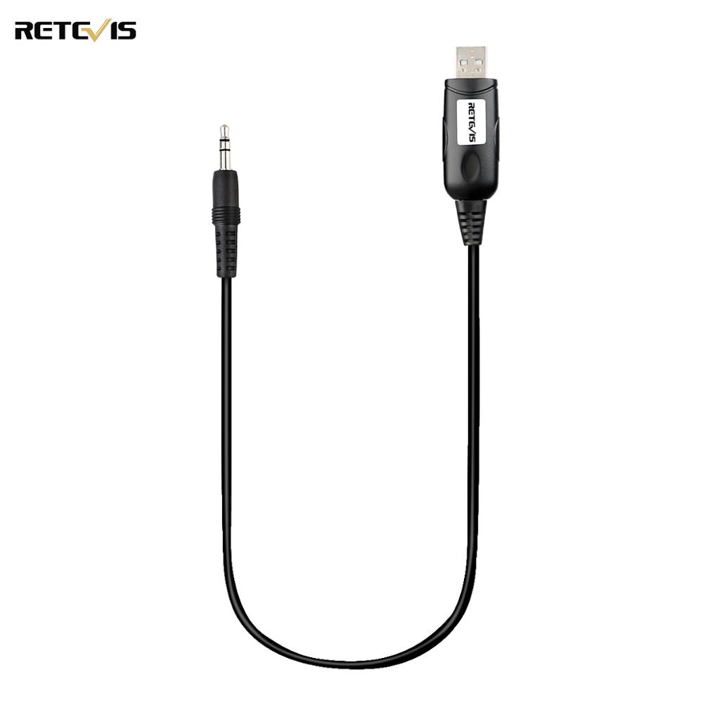Retevis USB Programming Cable Walkie Talkie Accessories For RETEVIS RT98 Mini Mobile Car Radio J9171P