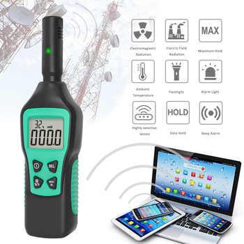 Digitale Elektromagnetische Bereich Strahlung Detektor Temperatur Strahlung Tester EMF Meter Dosimeter Detektor Für Computer Telefon