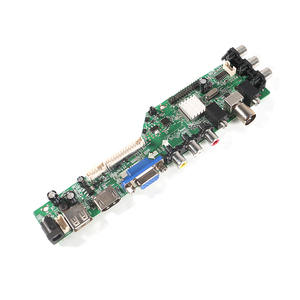 Image 4 - Aokin חדש דיגיטלי אות 3663 DVB C DVB T2 DVB T אוניברסלי LCD טלוויזיה בקר נהג לוח 3463A רוסית USB לשחק LUA63A8