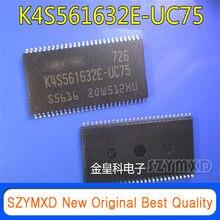 5 pçs/lote original novo K4S561632E-UC75 tssop54 256mb sdram import | original | em estoque