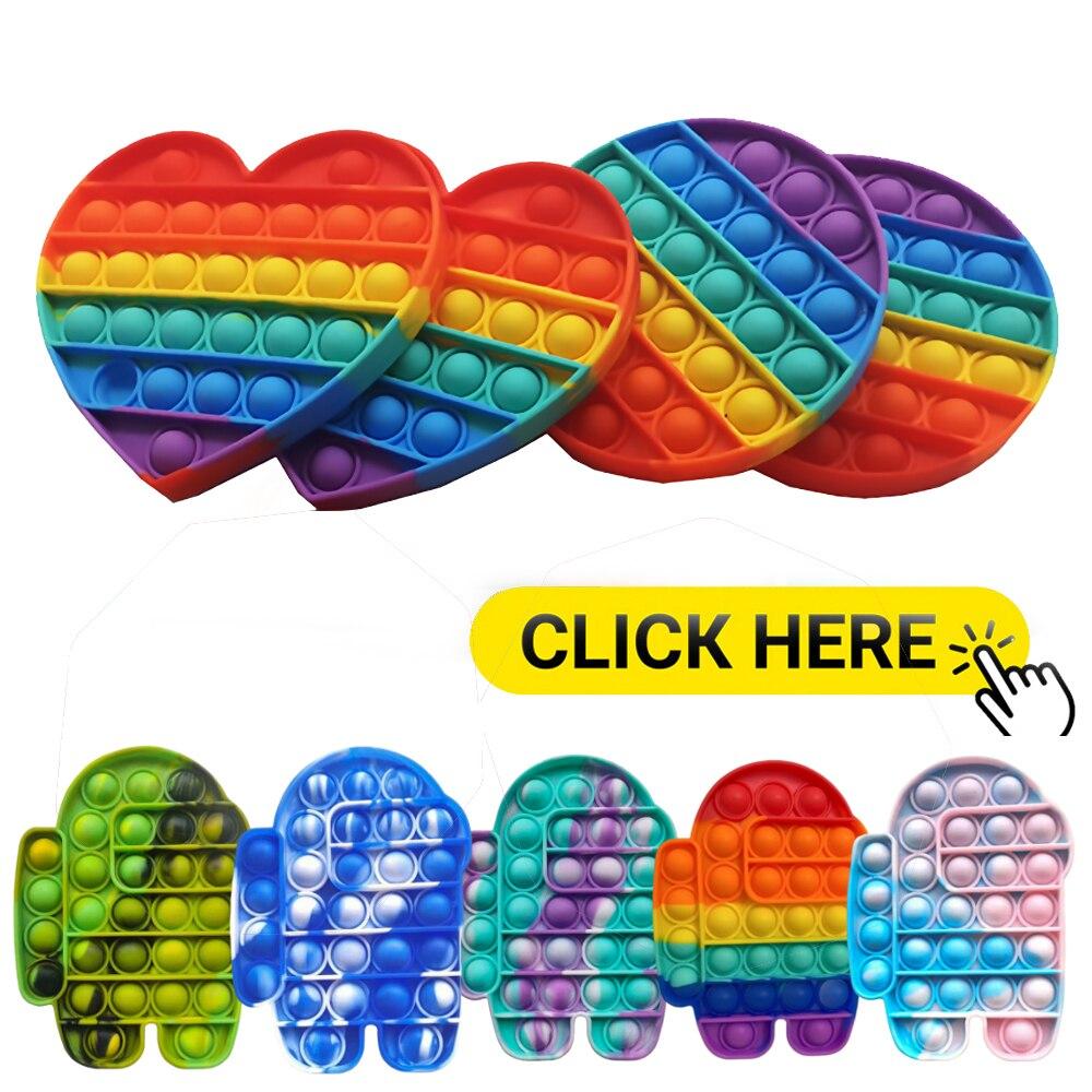 Пузырьковая игрушка с эффектом пузырьков для чувствительности аутизма, специальные потребности, СДВГ, игрушки для снятия стресса с аутизмо...