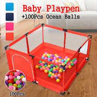 Bioby Baby Playpen For Children Pool Balls For Newborn Baby Fence Playpen For Baby Pool Children Playpen Kids Safety Barrier