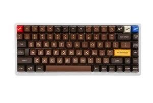 Image 2 - Xd84pro XD84 pro Personalizzato Tastiera Meccanica Kit 75% Supporta TKG TOOLS Supporto Underglow RGB PCB programmato gh84 kle di tipo c