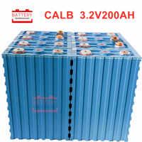 8 unids/lote 2020 nuevo grado A 3,2 v 200AH lifepo4 batería CALB SE200FI 600A corriente para diy 12V400AH 24V 200ah para RV SOLAR pack EV