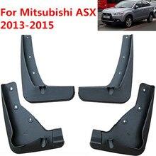 Брызговики автомобильные для Mitsubishi ASX 2013- Outlander Sport/RVR Брызговики брызговиков крыло брызговиков автомобиля аксессуары для укладки