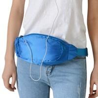 Unisex Hiking Pouch Wallet Sport Bag Fanny Pack Travel Waist Money Belt Zip sports running waist bag 9 colors