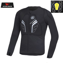 Motorcycle Men Protecitve Jackets High Visibility Reflective Shoulder Motocross Body Armor Hip Protector Back Protective Gear  цена и фото