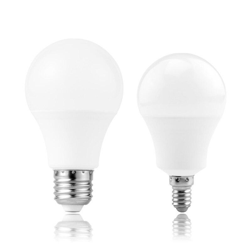 E27 E14 bombilla LED 3W 6W 9W 12W 15W 18W 20W ampolla bombilla lámpara LED CA 220V 230V 240V blanco frío/cálido
