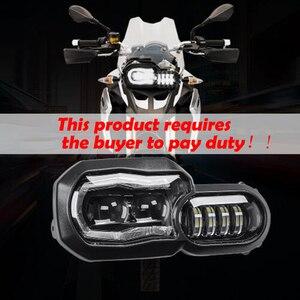 2017 новые аксессуары для заездов светодиодный налобный фонарь Hi/Lo в сборе Замена для BMW F800GS & F700GS мотоцикл налобный фонарь с угловыми глазами