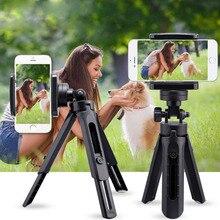 Gosear المحمولة قابل للتعديل تدوير الحامل ثلاثي الأرجل حامل جبل قوس للهاتف المحمول DSLR Mirrorless Gopro كاميرات تصوير الحركة