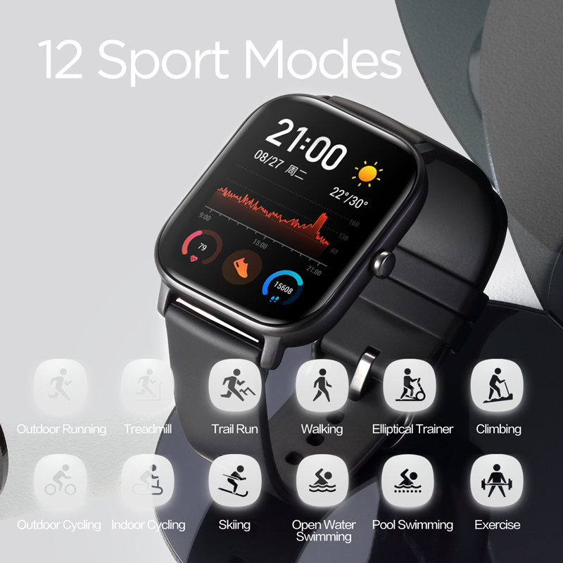 Image 5 - Global Version NEW Amazfit GTS Smart Watch 5ATM Waterproof 