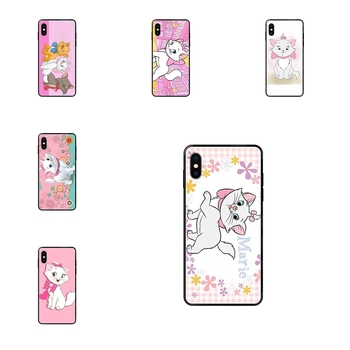 The Aristocats Black Soft TPU Accessories Case Luxury For Xiaomi Redmi Note 4 5 5A 6 7 8 8T 9 9S Pro Max image