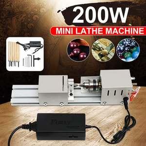 200W CNC Mini Lathe Machine To