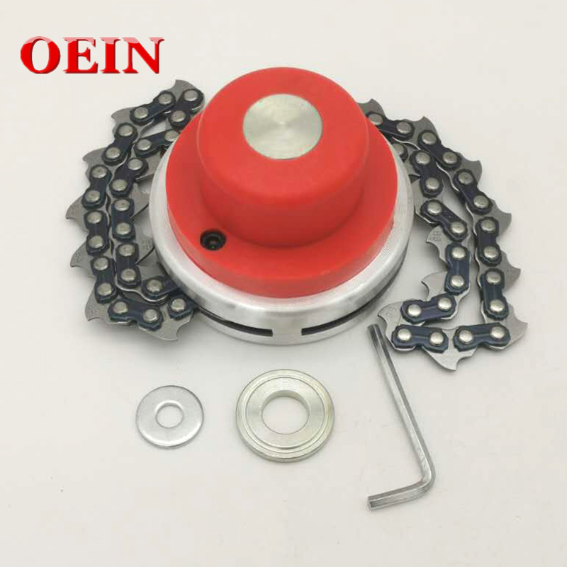 New Model Chain Universal Lawn Mower Chain Trimmer Head Chain Brushcutter for Trimmer Garden Grass Brush Cutter Tools Spare Part