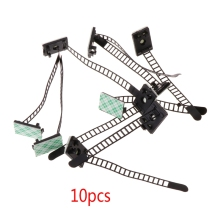 10 PCS Adjustable Self-Adhesive Cable Straps Self-Locking Organizer Holder