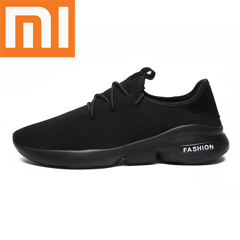 Xiaomi Light Running Shoes Comfortable Breathable Man Sneakers Casual Non-slip Wear-resisting Height Increasing Men Sport Shoes
