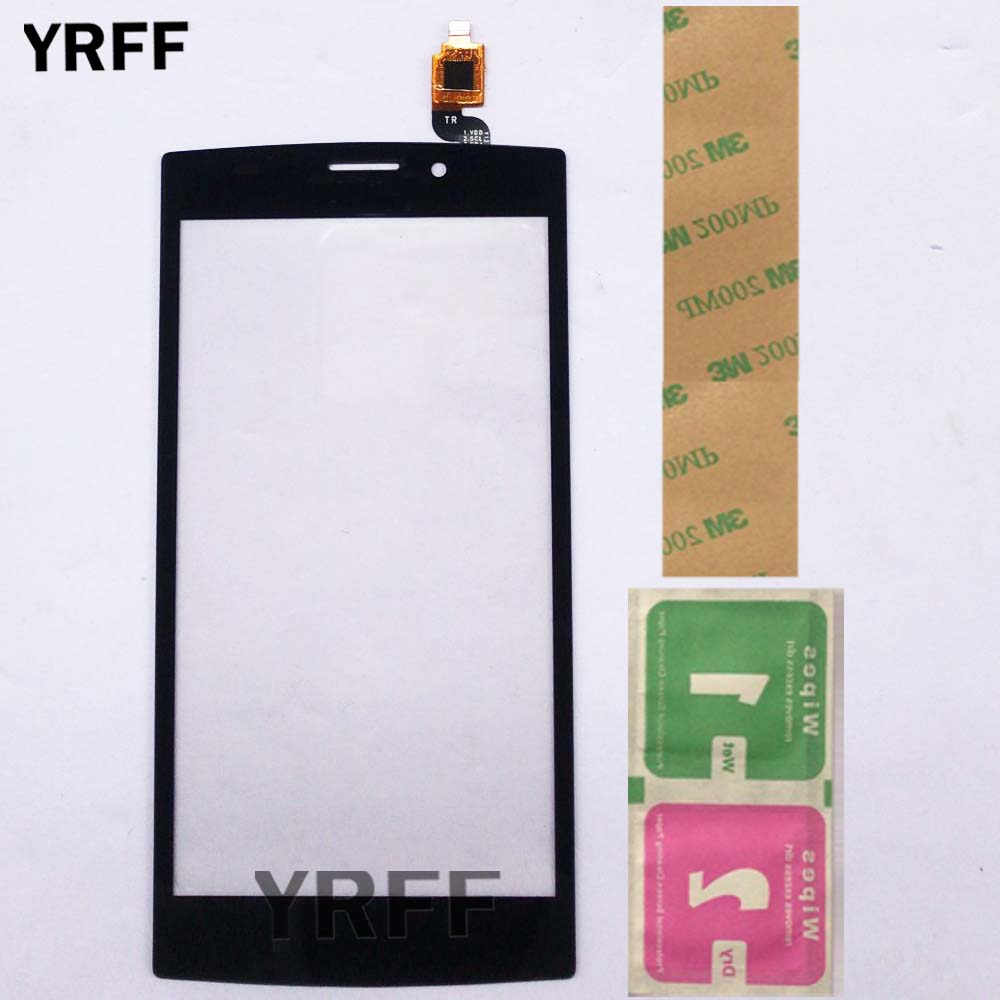 Touch Screen Digitizer Panel For Philips S337 Cellphone Front Glass CTS337 Touchscreen Sensor Repair 5'' Mobile Adhesive