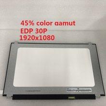 Tela lcd do caderno de 15.6 polegadas N156HCA-EAA 1920x1080 edp 30p