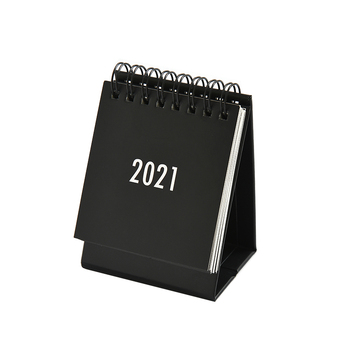 2021 Desk Mini Calendar Paper Protable Desk Accessories Planning School Office Supplies Presented By Kevin&sasa Crafts 1