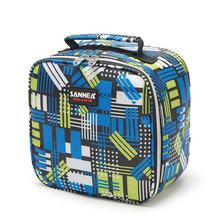 Cute Oxford Waterproof Thermal Cooler Insulated Lunch Box 5L Bring Food Package Portable Tote Outdoor Picnic Bag