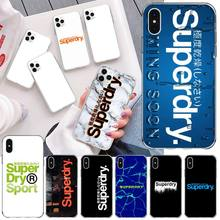 British Street Brand SuperdryerS Phone Case For iphone 12 11 Pro Max Mini XS Max 8 7 6 6S Plus X 5S SE 2020 XR Silicone Cover
