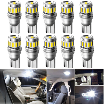 T10 194 W5W 168 LED Canbus Car Interior Light Bulbs For Volvo XC60 XC90 S60 V70 S80 S40 V40 V50 XC70 V60 C30 850 C70 XC 60 Led image