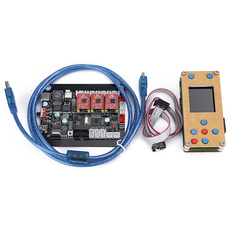 TOP Grbl Offline 3Axis Controller Board Stepper Motor Double Y Axis Usb Driver Board For Grbl For Engraving Machine Carving