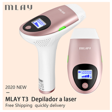 Mlay T3 IPL Hair Removal Epilator a Laser Permanent Hair Removal Machine Electric depilador a laser 500000 Flashes Free Shipping