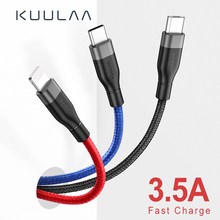 KUULAA 3 in 1 USB Cable For Mobile Phone Micro Type C Charger iPhone Fast Charging Cord