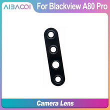 AiBaoQi New Original For Blackview A80 Pro Rear back Camera Glass Screen Protector Back Camera Clear Protective Film(China)