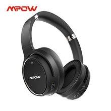 Verbeterde Mpow H19 Draadloze Hoofdtelefoon Active Noise Cancelling Bluetooth Headset Met 100hrs Afspelen Diepe Bas Voor Office Home
