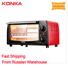 Konka mini forno 12l elétrica de bronze embutida escala elétrica forno elétrico embutido eletrodomésticos para cozinha
