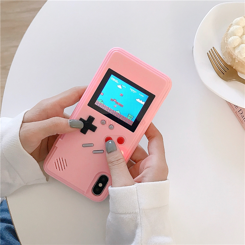 GB Gameboy Tetris Phone Case for iPhone 11 Super Maria Game Protection Cover for iPhone XR X Xs 11 Pro Max 6 6s 7 8 Plus SE 2020