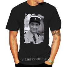 Louis De Funes Tshirt, Old Celebrities Full-figured T-shirt, Tshirt Blanc Homme, Cadeau New Summer Style