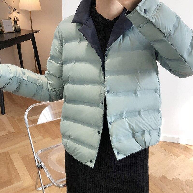 Novo 2020 jaqueta de inverno feminino dupla