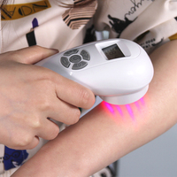 Medical laser equipment therapy machine 650 nm cold laser device pain relief and low level laser acupuncture therapy