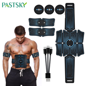 EMS Abdominal Massage Belt Muscle Stimulator Trainer ABS Fitness slimming Equipment Electrostimulator Exercise At Home Gym