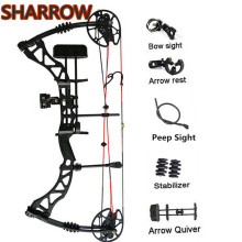 Bows Shooting-Accessories Archery-Compound Right Hunting-Bow Adjustable Adult Alloy