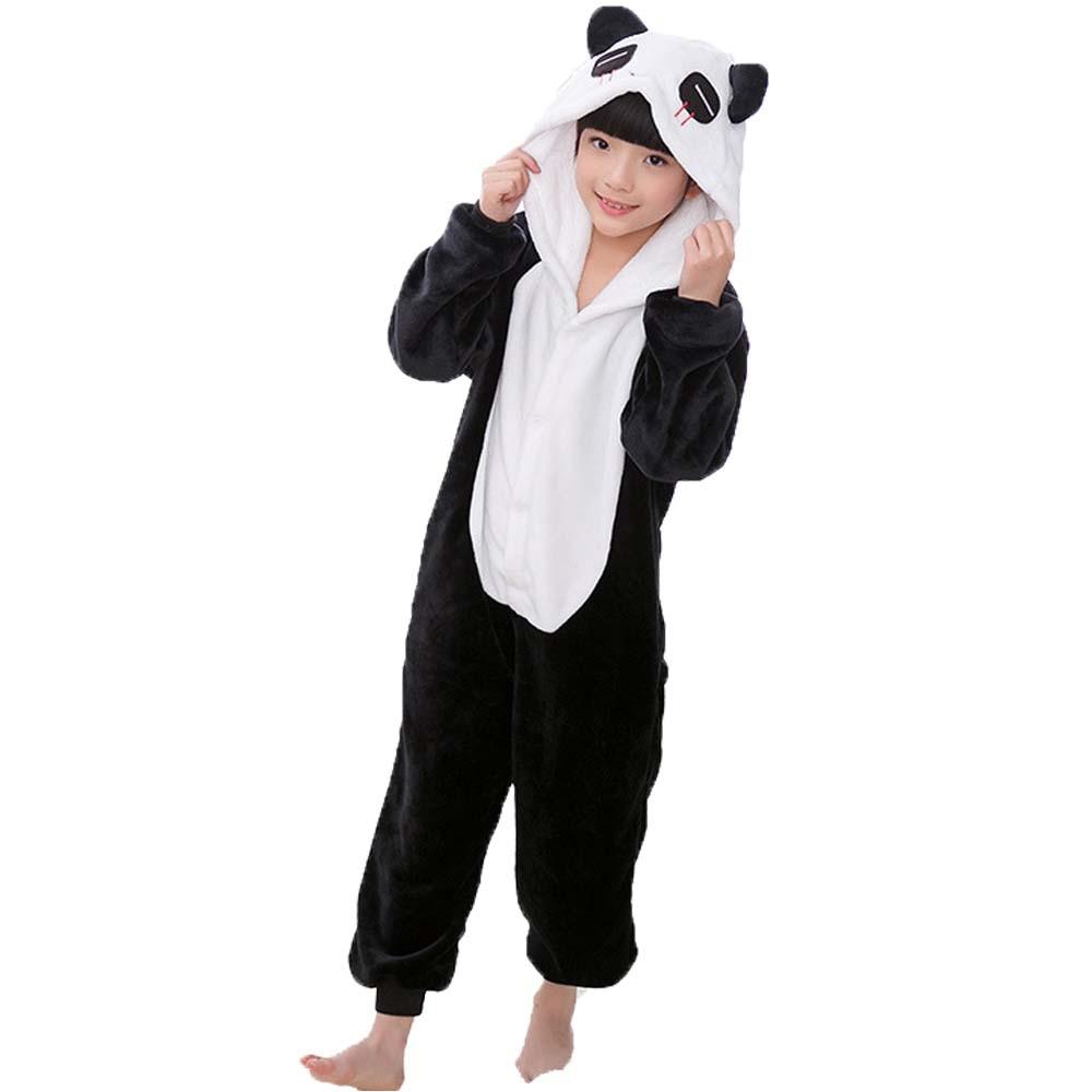 2021 Children Onesie Kids Unicorn Panda Pajamas Animal Cartoon Blanket Sleepers Baby Costume Winter Boys Girls Licorne Jumspuit 6