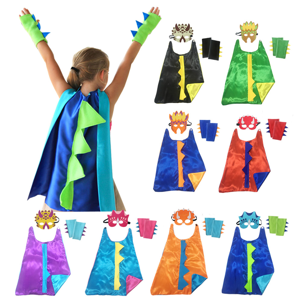Boy Girl Cute Cartoon Animal Dinosaur Costume Cosplay for Kids Children's Day Costumes